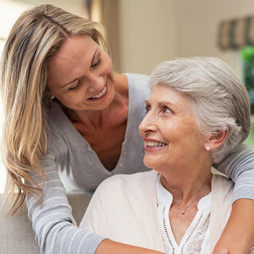 Senior Woman Receiving Care